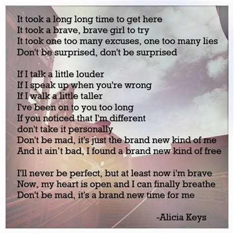 """made this from alicia keys' """"brand new me"""""""
