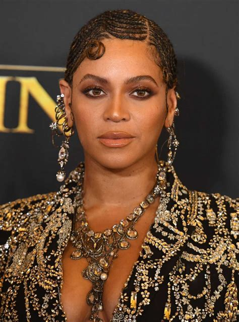 Beyonce Attends The Lion King Premiere at Dolby Theatre in