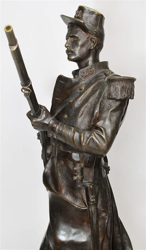 A Very Fine French 19th Century Patinated Bronze Figure of
